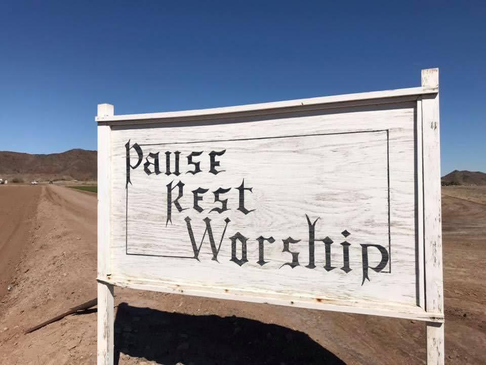 Pause. Rest. Worship.