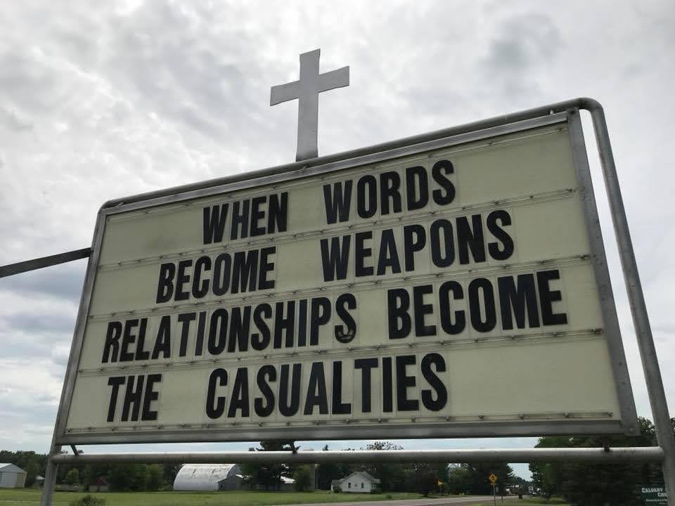 When words become weapons, relationships become the casualties.